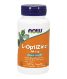 NOW FOODS L-OptiZinc 30mg 100 caps.