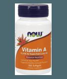NOW FOODS Vitamin A 10,000 IU 100 softgels
