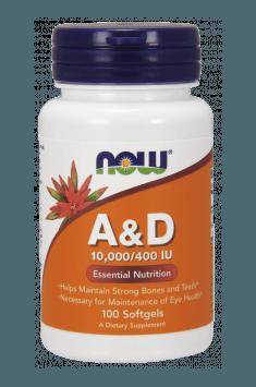 Vitamin A&D 10000/400 IU