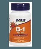 NOW FOODS Vitamin B-1 100mg 100 tab.