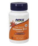 NOW FOODS Vitamin D-3 2000 IU 240 softgels