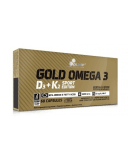OLIMP Gold Omega 3 D3+K2 Sport Edition 60 caps.