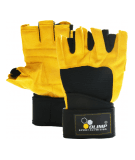 OLIMP Hardcore Raptor Gloves (Yellow)