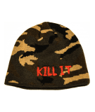 5% NUTRITION Beanie #BNE3 (Camo/Red)