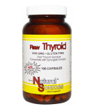 NATURAL SOURCES Raw Thyroid 180 caps.