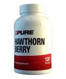 PURE Hawthorn Berry 500mg 120 caps.