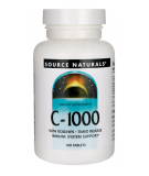 SOURCE NATURALS C-1000 Timed Release 100 tab.