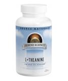 SOURCE NATURALS L-Theanine 200mg 120 caps.