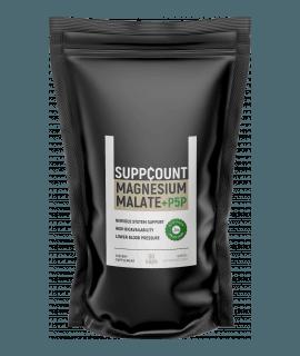 SUPPCOUNT Magnesium Malate + P5P 50 caps.