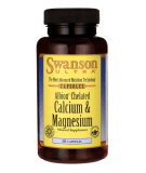 SWANSON Albion Chelated Magnesium & Calcium 60 caps.