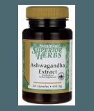 SWANSON Ashwagandha Extract 60 caps.