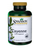 SWANSON Cayenne 450mg 300 caps.