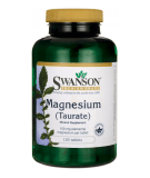 SWANSON Magnesium Taurate 100mg 120 tab.
