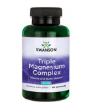SWANSON Triple Magnesium Complex 400mg 100 caps.